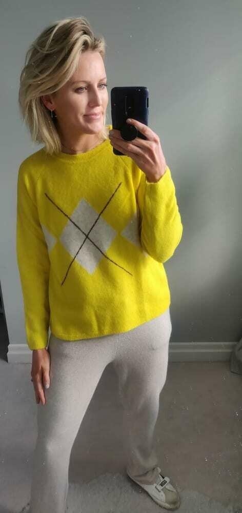 Dylan Yellow Sweater
