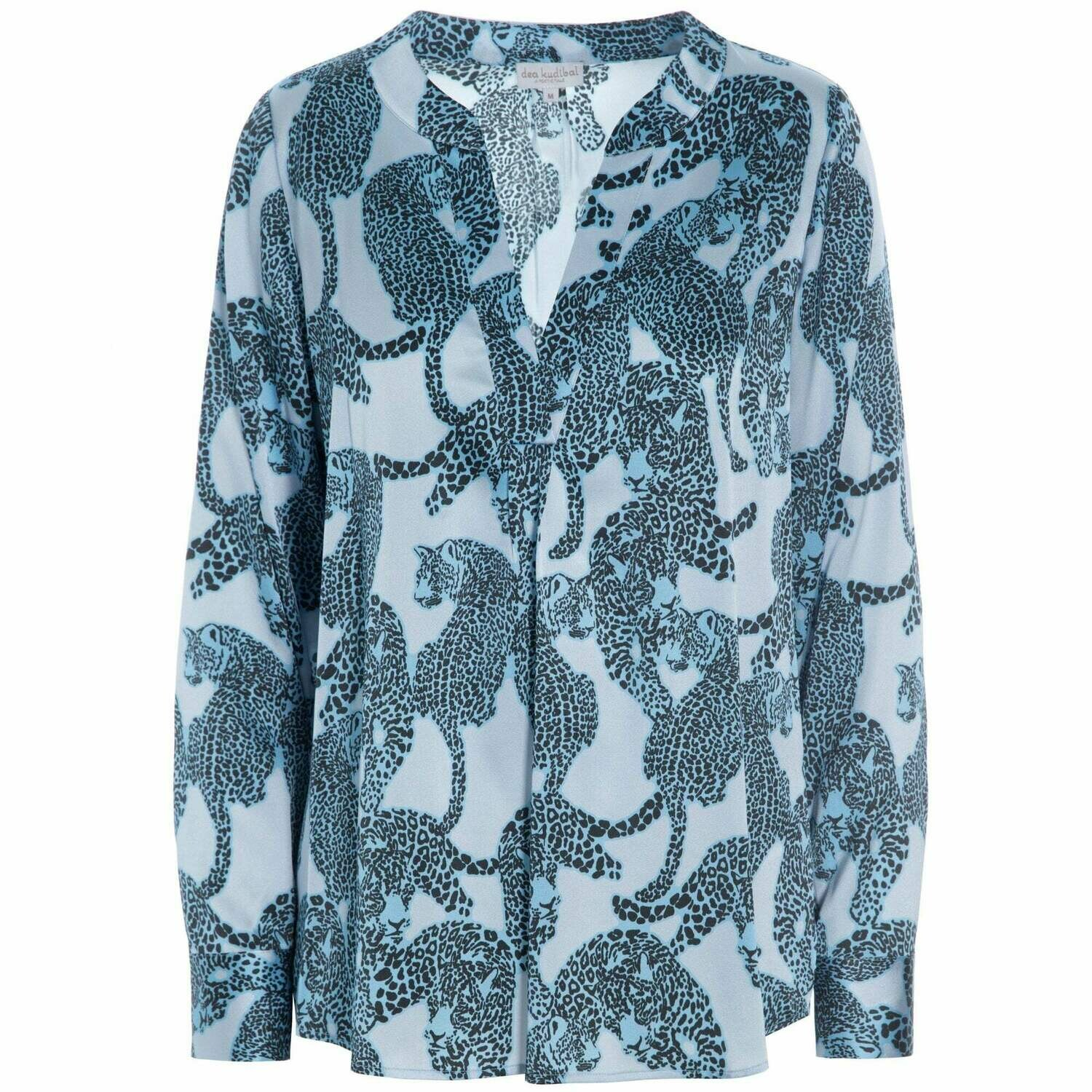 Santena Animal Silk Shirt
