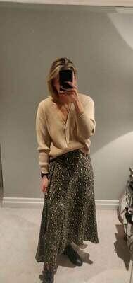 Lucy Leopard Skirt
