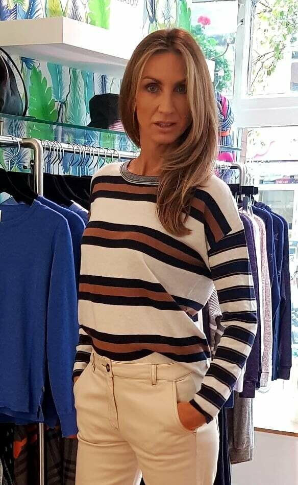 Heidi Stripe Knit