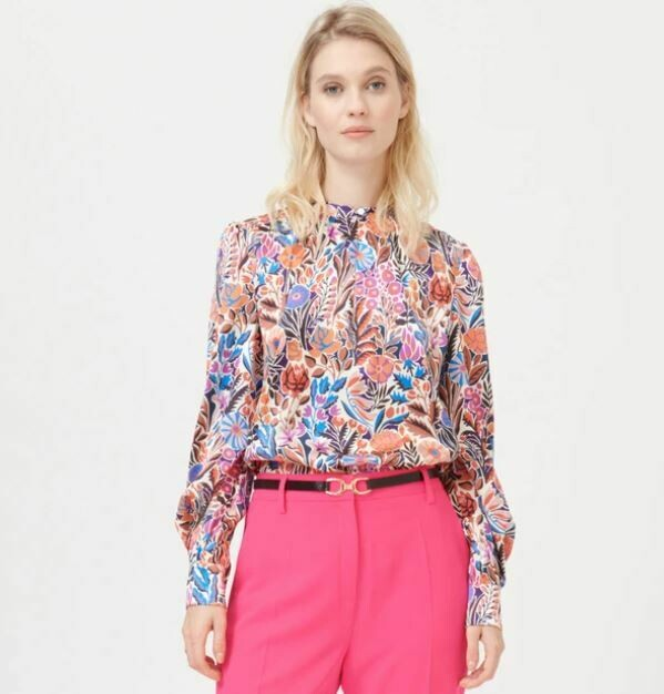 Stacy Silk Top