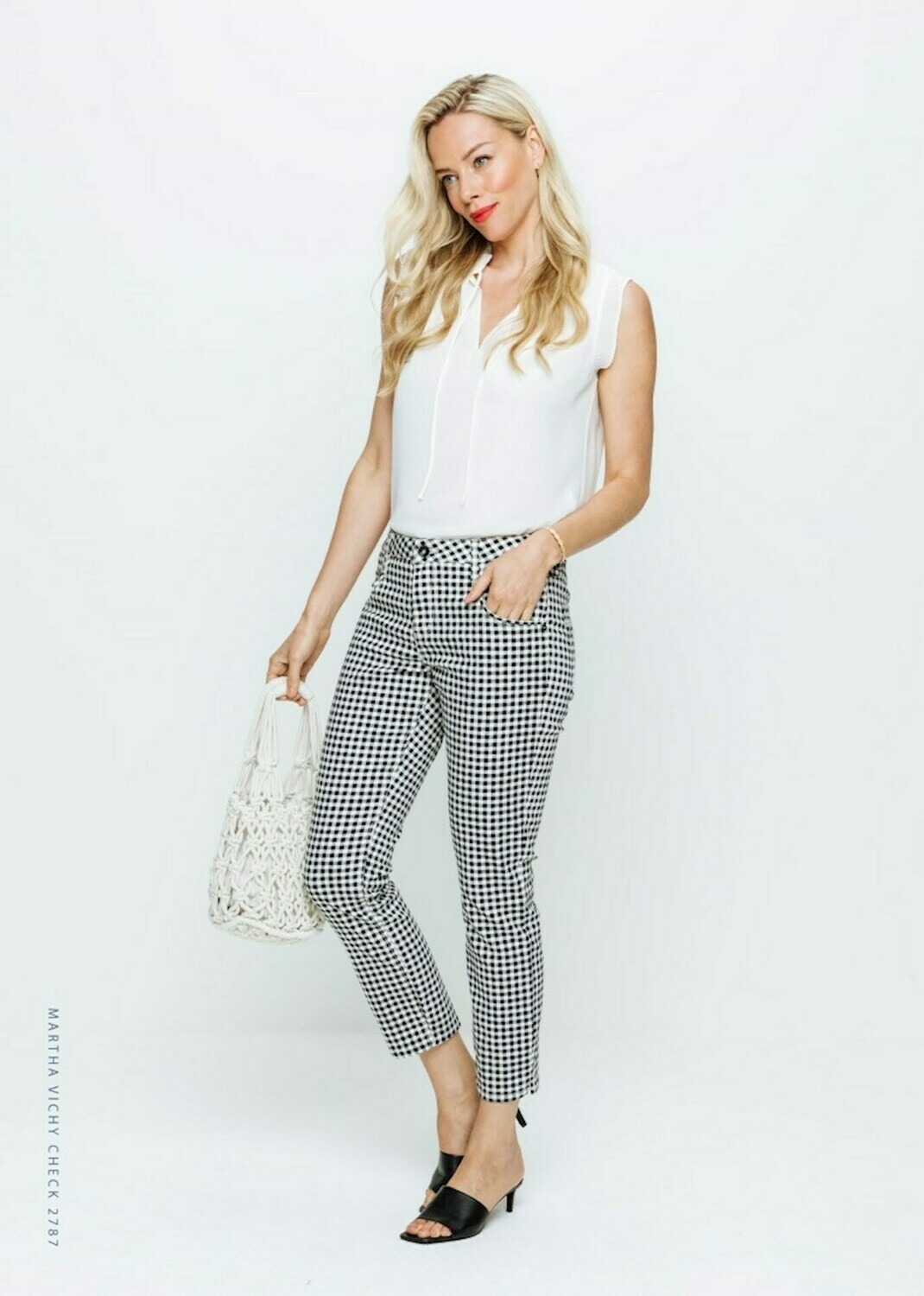 Vichy Check Trousers