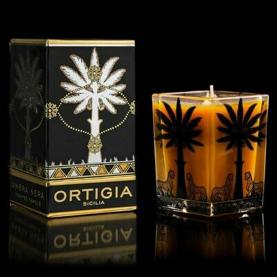 Black Amber Candle