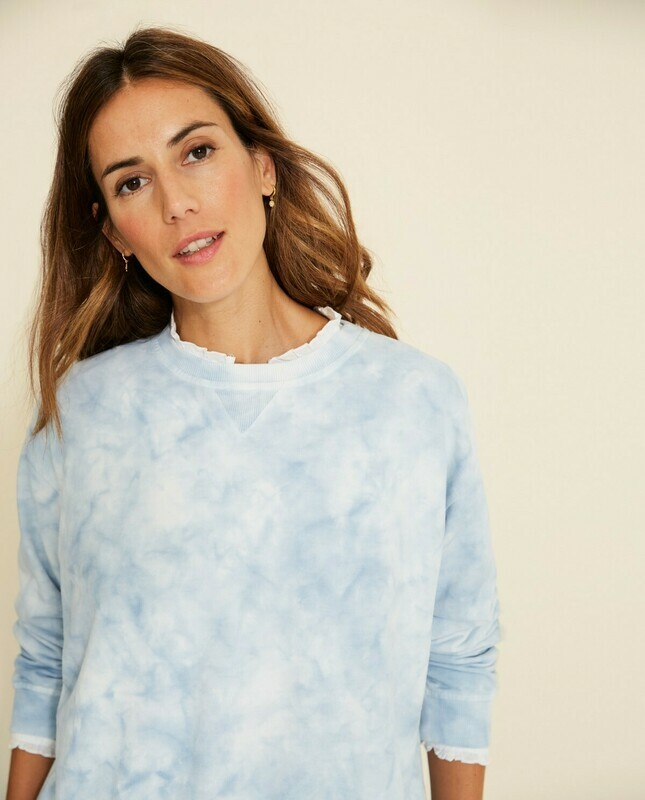 Amarillo Tie Dye Sweatshirt
