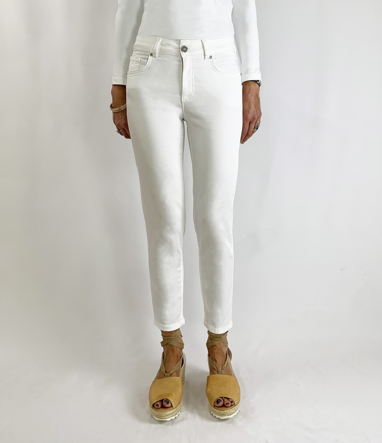 Unity White Trousers