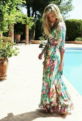 Liquid Rainbow Dress