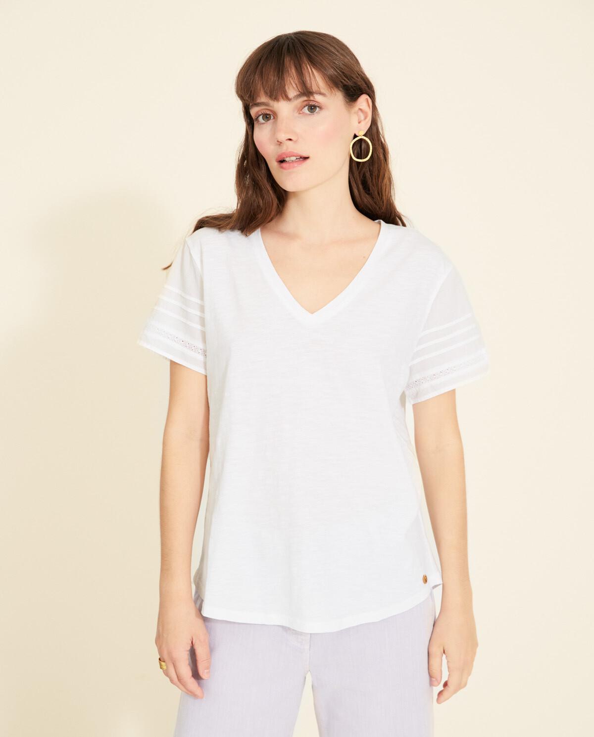 Belle White Tshirt 34021
