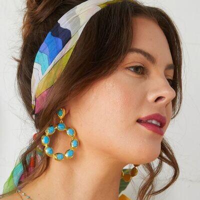 Wanda Hoop Earrings