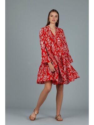 Lobster Dress Red