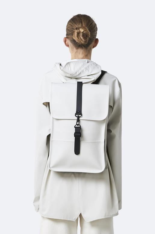 Rains Backpack Off White