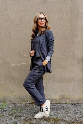 OOTD Grey Trousers