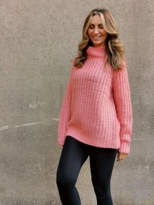 Crewneck Chunky Knit Sweater