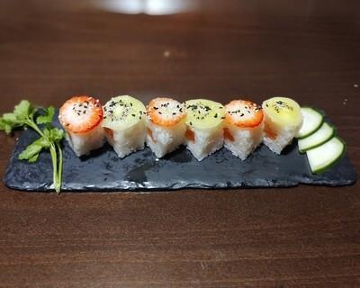 #1154- Urumaki fruta (6 peças)