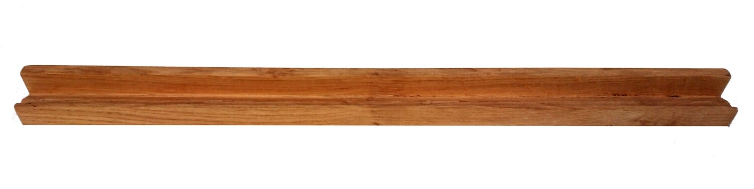 Oak Tile Rail (Tiles Sold Seperately)