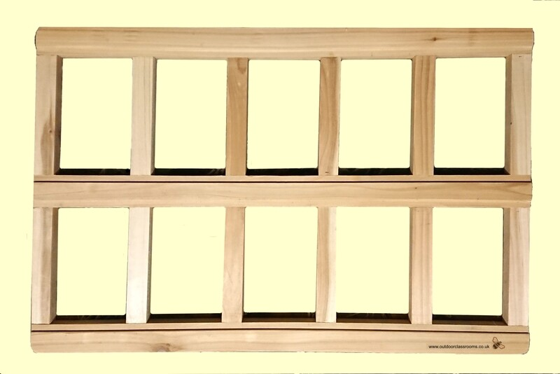 Ten Frame Rail (©Versa-Tile Maths and Phonics Compatible)