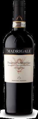 Il Madrigale - Primitivo Dolce Naturale - Vino Rosso - Cantina CONSORZIO PRODUTTORI DI VINI MANDURIA cl.70
