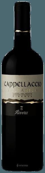 Cappellaccio Aglianico Riserva - Vino Rosso Granato - Cantina RIVERA cl.75