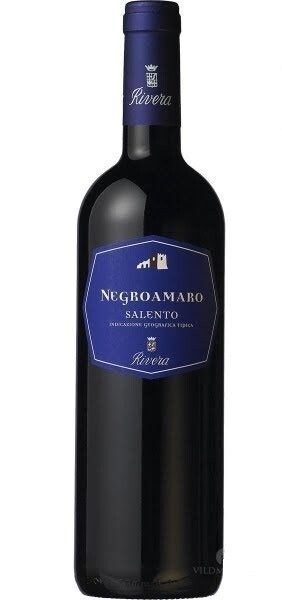 Negroamaro - Vino Rosso Salento - Cantina RIVERA cl.75