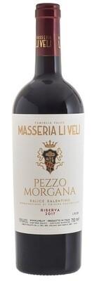 Pezzo Morgana - Salice Salentino riserva DOC Masseria LI VELI cl.75 ***