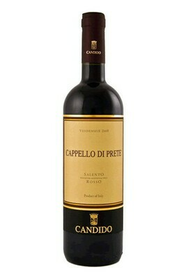 Vino Cappello Di Prete - Salento IGP - Vino rosso - Cantina CANDIDO cl.75