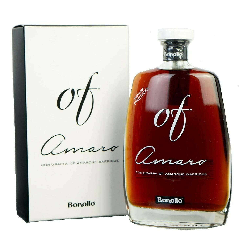 Amaro OF Bonollo con Grappa OF Amarone BARRIQ. cl.70