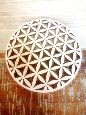 Levensbloem - heilige geometrie onderzetter