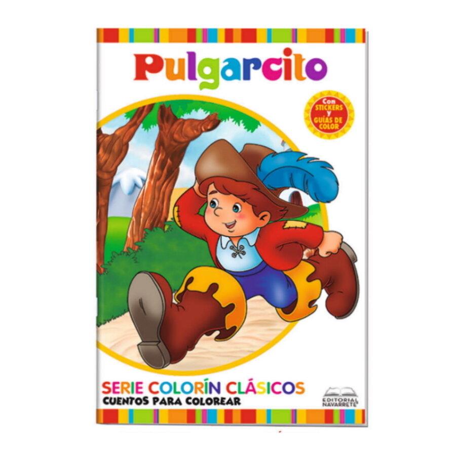 CUENTO COLORÍN A4 - PULGARCITO