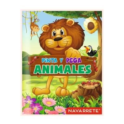 COLECCIÓN PINTA Y PEGA - ANIMALES