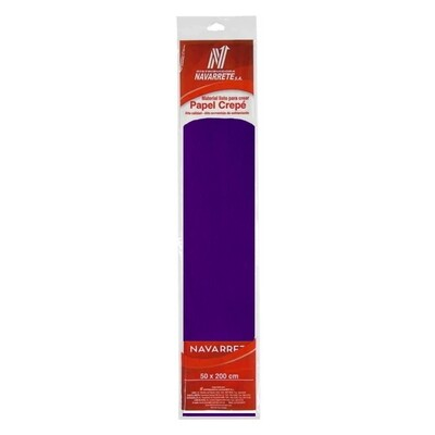 PAPEL CREPE COLOR MORADO X 1 PLIEGO