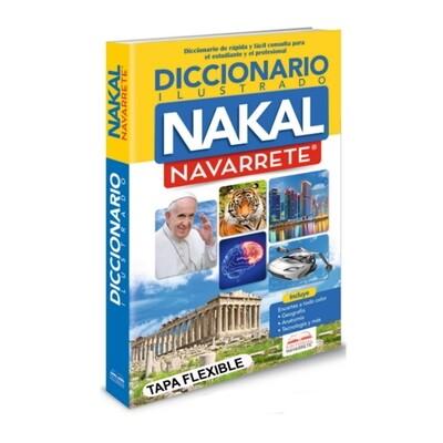 DICCIONARIO ESCOLAR ILUSTRADO NAKAL TAPA DURA