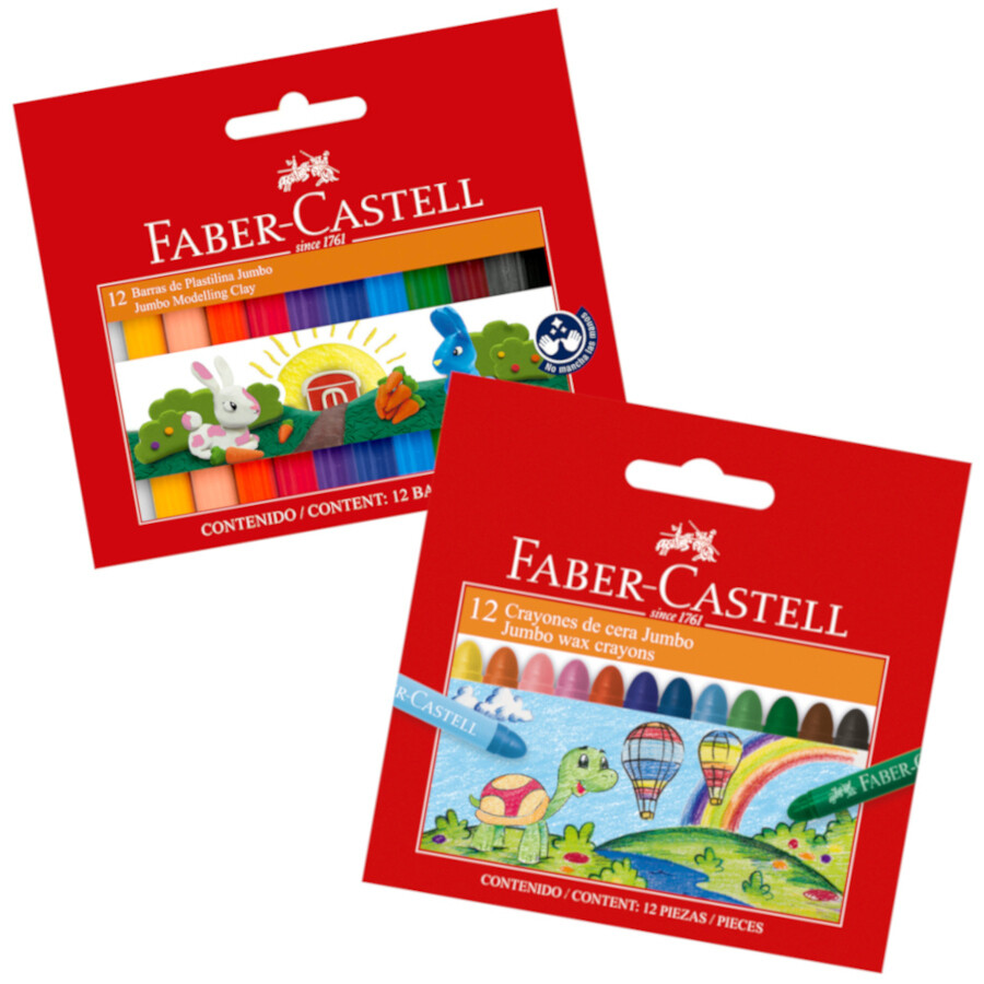 PACK INICIAL FABER - CASTELL