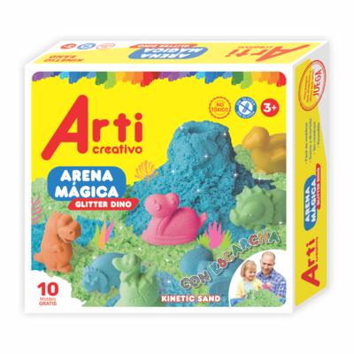 ARENA MÁGICA GLITTER DINO TAC 035-11