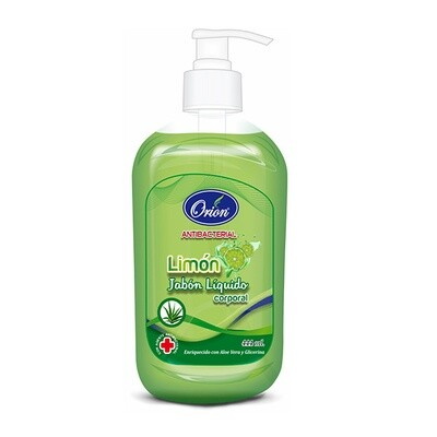 JABON ANTIBACTERIAL 444ML  LIMON