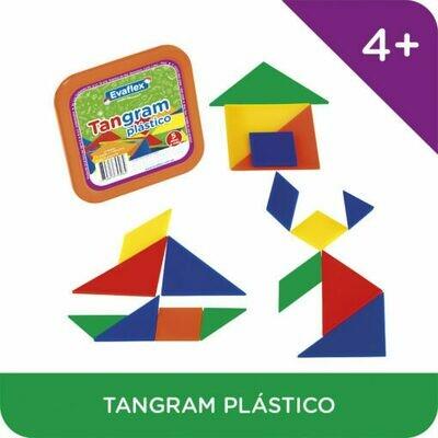 TANGRAM DE PLASTICO 4 JGOS-EVAFLEX