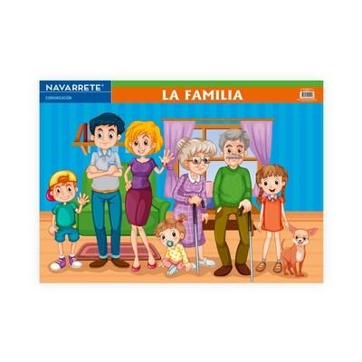 LÁMINA MURAL 50 X 70 CM LA FAMILIA