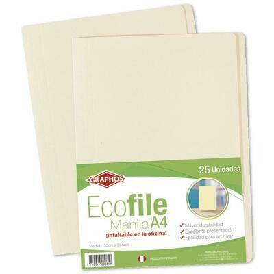 FILE ECOFILE A4-GRAPHOS (PQTX25)