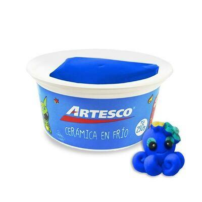 Ceramica EN FRIO ARTESCO AZUL 250 GRM
