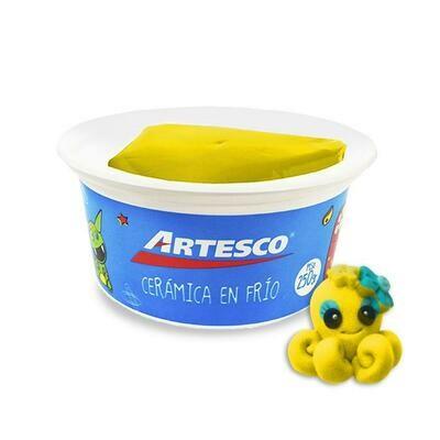 Ceramica EN FRIO ARTESCO AMARILLO 250 GR