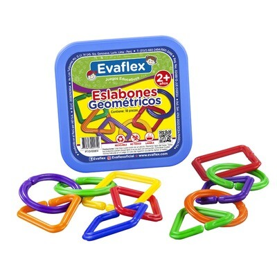 ESLABONES GEOMETRICOS PLAST.-EVAFLEX