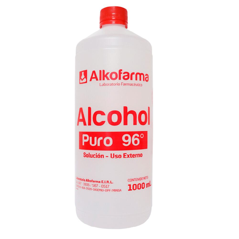 ALCOHOL PURO 96 X 1000 ML