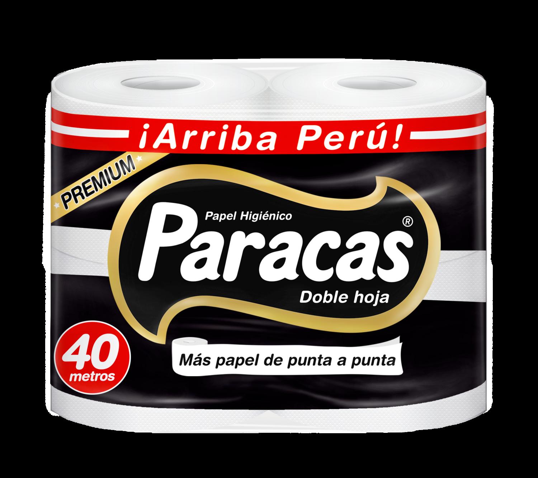 PAPEL HIGIÉNICO PARACAS BLACK PREMIUM PQTX4RLL (40MT)