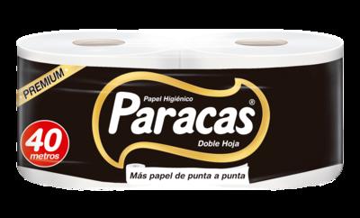 PAPEL HIGIÉNICO PARACAS BLACK PREMIUM PQTX2RLL (40MT)