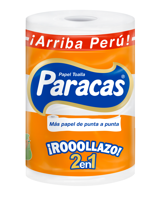 PAPEL TOALLA ROLLAZO PARACAS PQTX1RLL (19MT)