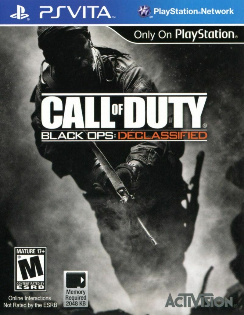 CALL OF DUTY BLACK OPS DECLASSIFIED (usagé)