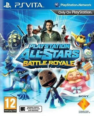 PLAYSTATION ALL-STARS BATTLE ROYALE (COMPLETE IN BOX)