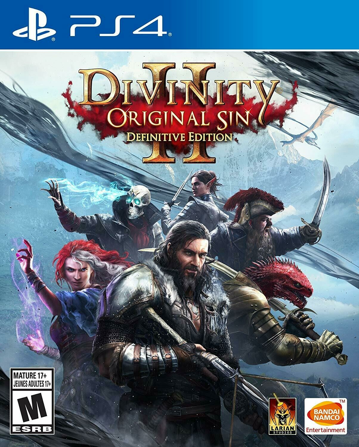 DIVINITY ORIGINAL SIN 2 DEFINITIVE EDITION (usagé)