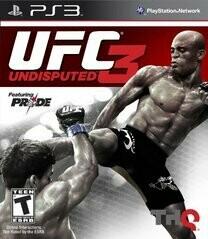 UFC UNDISPUTED 3 (usagé)