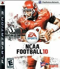 NCAA FOOTBALL 10 (usagé)