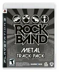 ROCK BAND METAL TRACK PACK (usagé)