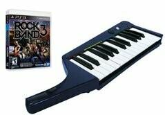 ROCK BAND 3 KEYBOARD BUNDLE (usagé)